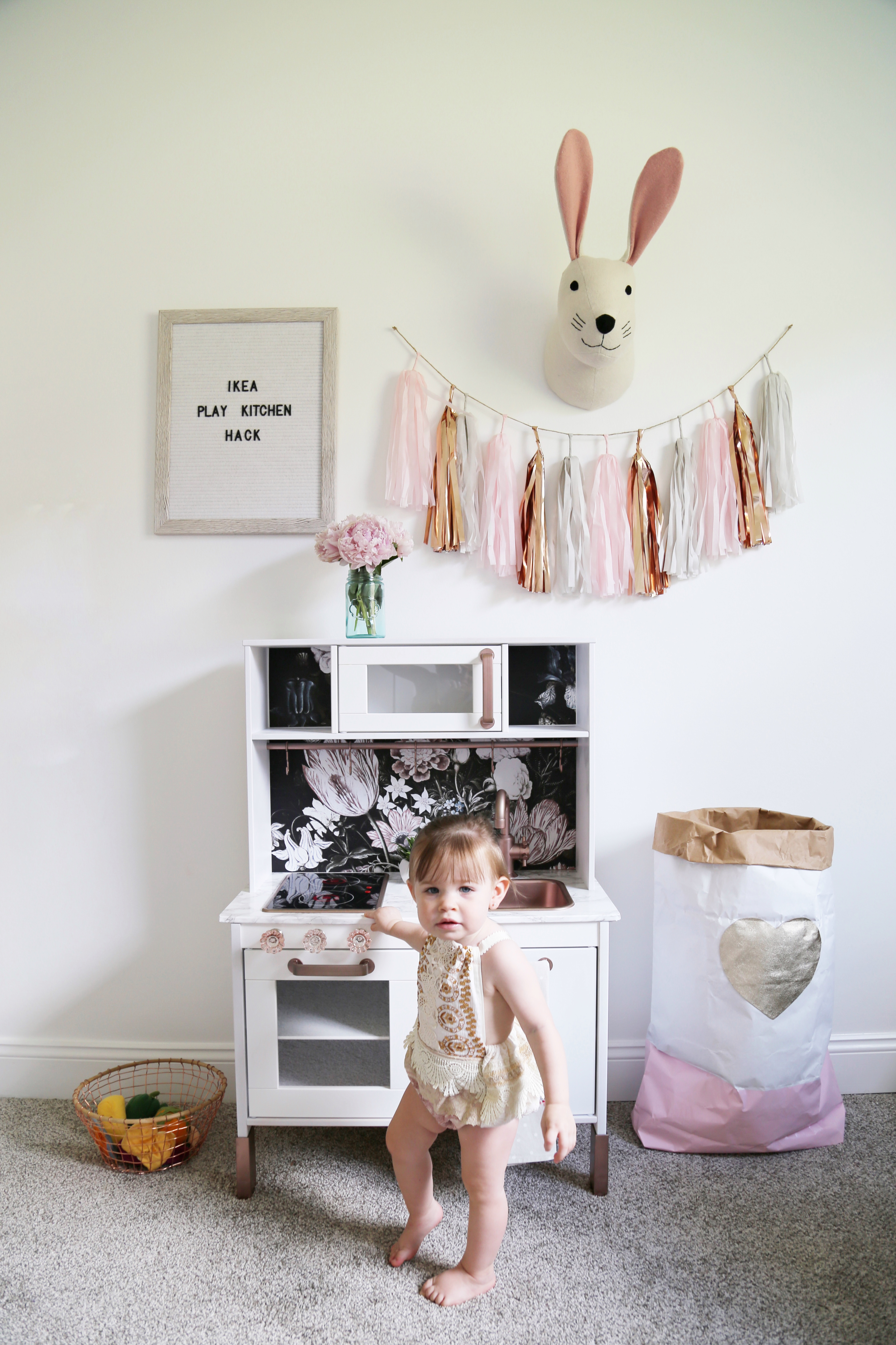 Ikea Duktig Play Kitchen Makeover – Stephanie Hanna Blog